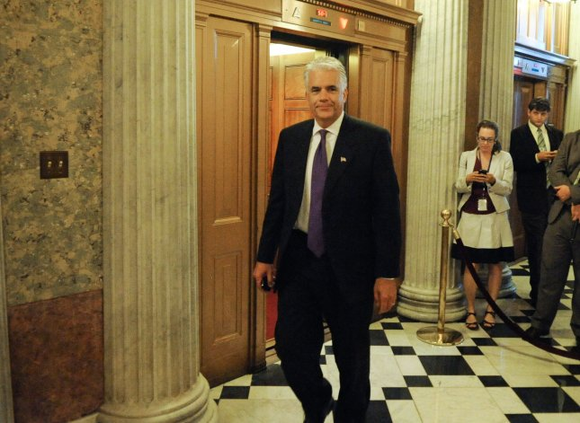Sen. John Ensign (R-NV) walks to the floor of the Senate on Capitol HIll in Washington on August 5, 2010. The U.S. Senate voted to confirm Supreme Court Justice nominee Elena Kagan 63-37. UPI/Alexis C. Glenn