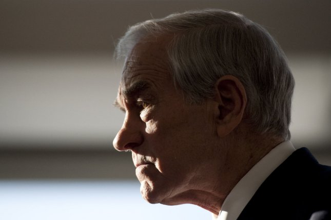 Former Texas congressman and Republican presidential candidate Ron Paul said his son could not have won this year's election because voters have tended to favor candidates with magical answers. Photo by UPI/Brian Kersey