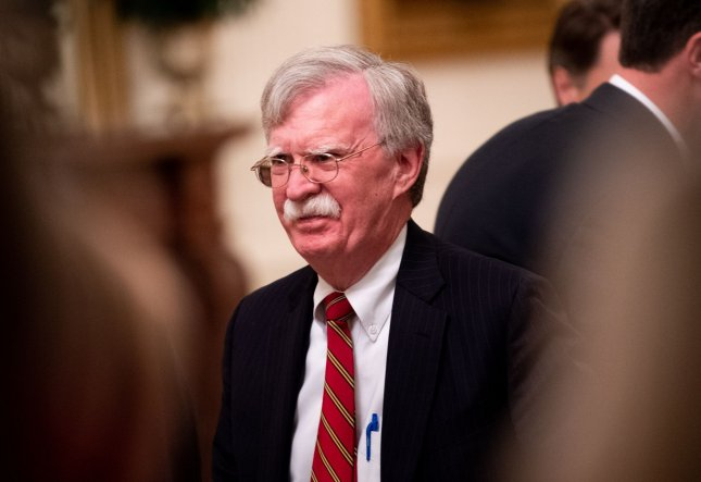 Democrats have requested for present and former Trump administration officials including John Bolton, former National Security advisor, to testify in the Senate's forthcoming impeachment trial. Photo by Kevin Dietsch/UPI