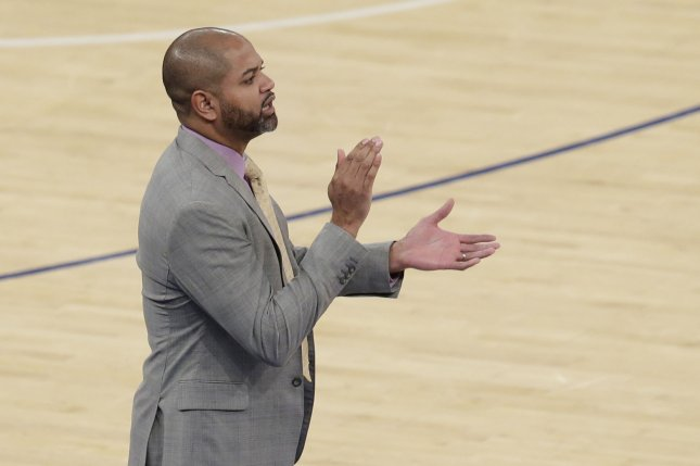 Cleveland Cavaliers head coach J.B. Bickerstaff agreed to a four-year deal that will run through the 2023-24 season. File Photo by John Angelillo/UPI
