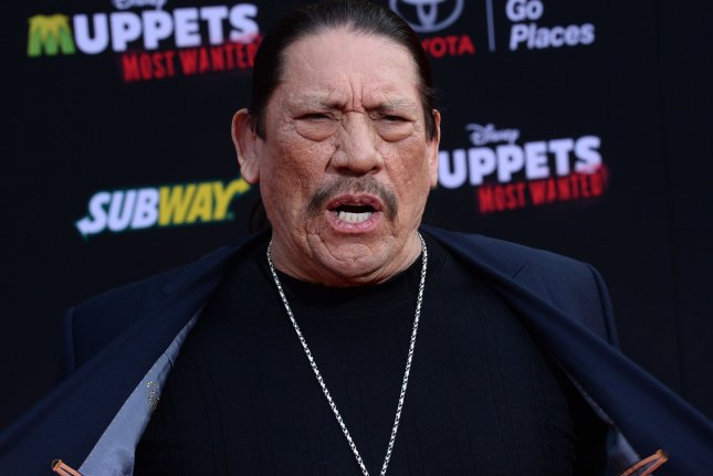 Danny Trejo became the latest celebrity eliminated from The Masked Singer on Wednesday night. File Photo by Jim Ruymen/UPI