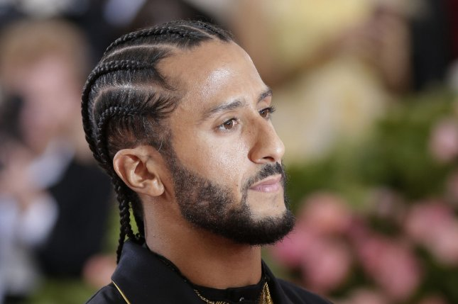 Colin in Black & White, a new series exploring Colin Kaepernick's high school years, will premiere on Netflix in October. File Photo by John Angelillo/UPI