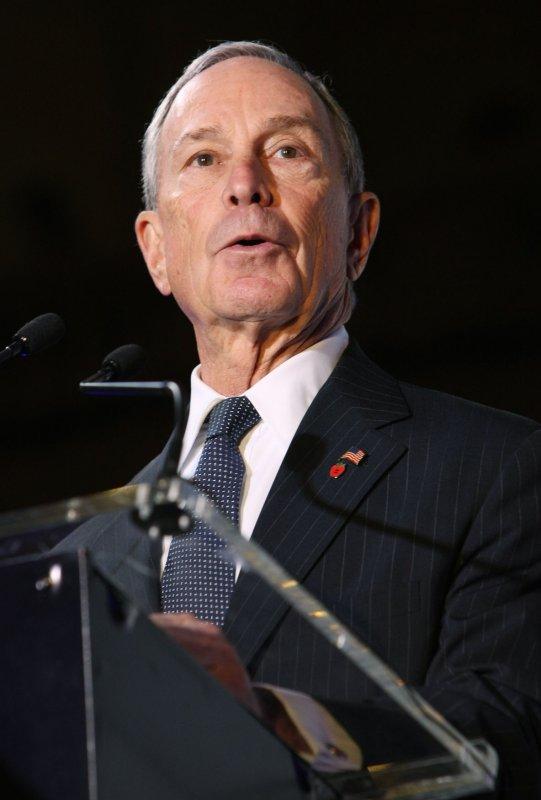 New York City Mayor Michael Bloomberg speaks during the centennial celebration of Grand Central Station on February 1, 2013 in New York City. UPI /Monika Graff