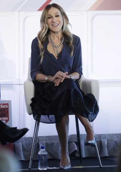 Sarah Jessica Parker speaks at the 4th annual Forbes Women's Summit at Pier 60 Chelsea Piers in New York City on May 12, 2016. Parker stars in the upcoming series Divorce which premieres on HBO this fall. File Photo by John Angelillo/UPI