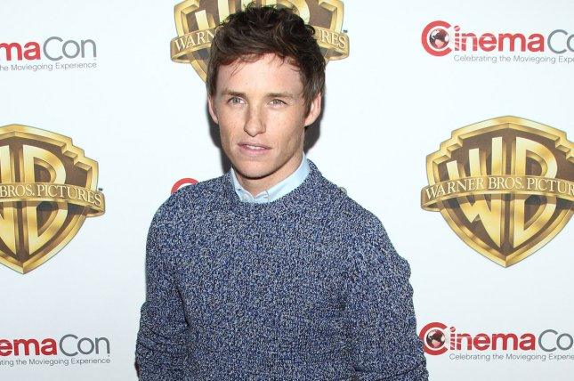 Fantastic Beasts and Where to Find Them star Eddie Redmayne arrives for the Warner Bros. Pictures Presentation at CinemaCon 2016 on April 12. Warner Bros. has announced that they are looking to cast a younger version of Redmayne's character Newt Scamander along with younger versions of Albus Dumbledore, Gellert Grindelwald and Leta Lestrange. File Photo by James Atoa/UPI