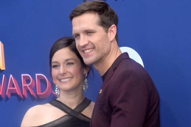 Walker Hayes (R) and Laney Hayes spoke out following the death of their newborn daughter in June. File Photo by Jim Ruymen/UPI