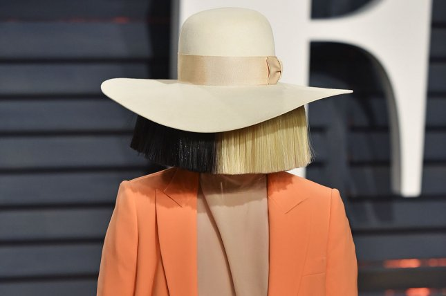 Sia has celebrated on social media being sober for eight years. File Photo by Christine Chew/UPI