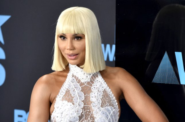 Tamar Braxton beat retired NFL star Ricky Williams during the Celebrity Big Brother Season 2 finale. File Photo by Christine Chew/UPI