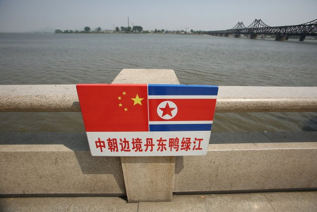 North Korea shut down its 880-mile border with China in January, a measure that may have helped the regime mitigate the impact of COVID-19, a U.S. analyst said Tuesday. File Photo by Stephen Shaver/UPI