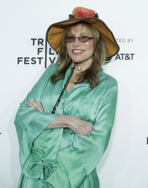 Carly Simon arrives on the red carpet at the Clive Davis: The Soundtrack Of Our Lives premiere at Radio City Music Hall on April 19, 2017, in New York City. The singer turns 75 on June 25. File Photo by John Angelillo/UPI
