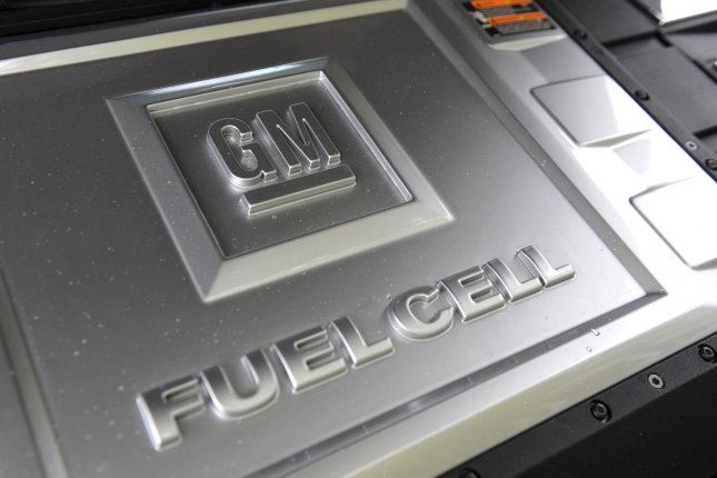 GM said it hopes the additional funds will make it a global leader in battery and fuel cell technology, through its Ultium battery platform and Hydrotec fuel cells. File Photo by Kevin Dietsch/UPI