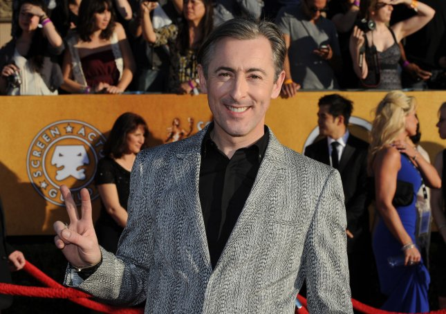 Actor Alan Cumming arrives at the 18th annual Screen Actors Guild Awards in Los Angeles on January 29, 2012. UPI/Jim Ruymen