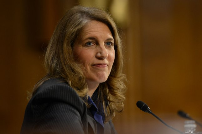 Sylvia Mathews Burwell testifies during the Senate Health, Education, Labor and Pensions Committee hearing on the her nomination to be secretary of the Health and Human Services Department, on Capitol Hill in Washington D.C. on May 8, 2014. UPI/Molly Riley