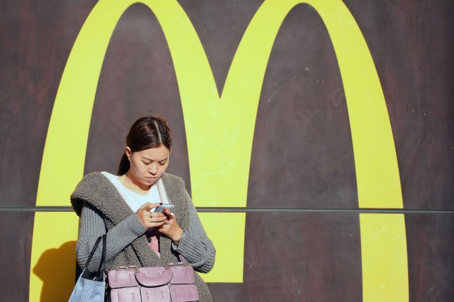 McDonald's announced plans Tuesday to open 2,000 new restaurants in China within the next five years. Photo by Stephen Shaver/UPI