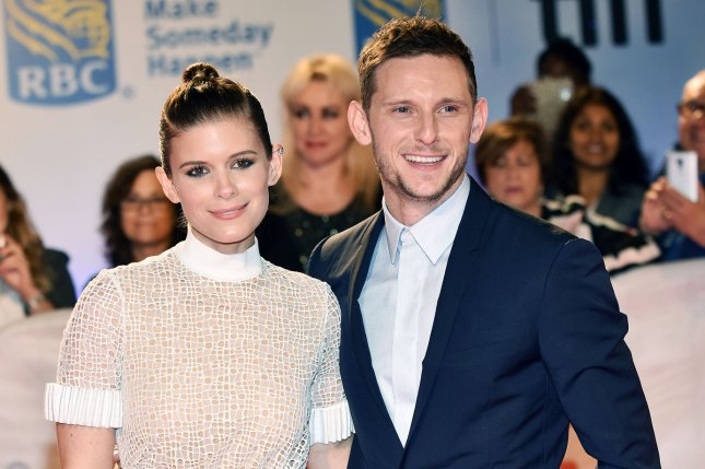 Jamie Bell (R) and Kate Mara attend the Toronto International Film Festival premiere of Film Stars Don't Die in Liverpool on Tuesday. Photo by Christine Chew/UPI
