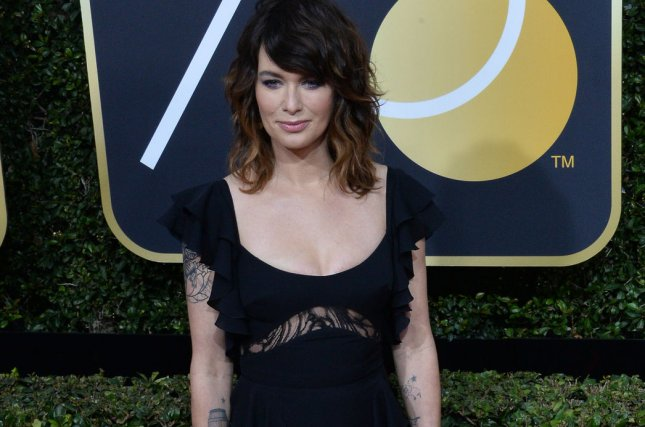 Lena Headey is celebrating the 22 Emmy nominations her show Game of Thrones recently earned. File Photo by Jim Ruymen/UPI