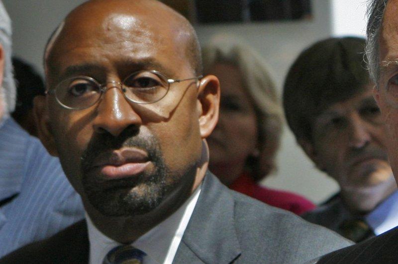 Philadelphia Mayor Michael Nutter. UPI/Dennis Brack/Pool