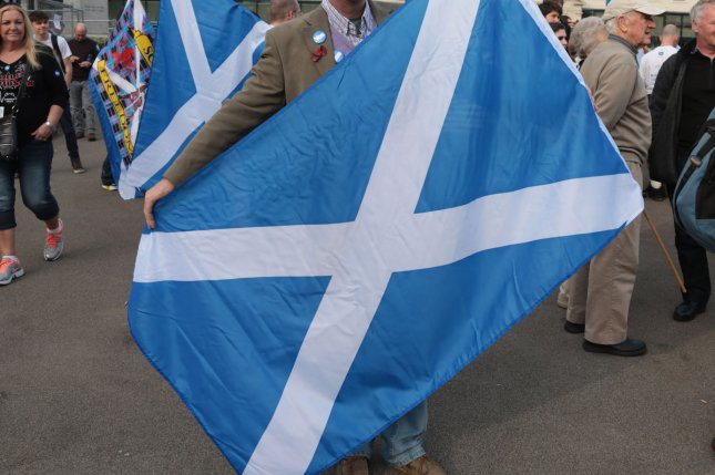 Scottish government said it would explore all options for staying tied to the European Union after the British vote in June to leave the bloc. File Photo by Hugo Philpott/UPI