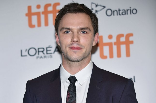 Nicholas Hoult will lead the vocal cast of Hulu's Crossing Swords. File Photo by Christine Chew/UPI