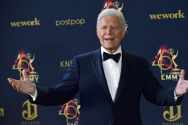 Alex Trebek died Sunday at the age of 80. File Photo by Chris Chew/UPI