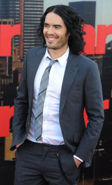 British actor/comedian Russell Brand attends the premiere of Arthur at Cineworld, O2 Arena in London on April 19, 2011. UPI/Rune Hellestad