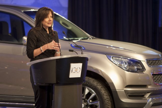 Mary Barra will take the wheel at General Motors, the world's most profitable car maker, when Dan Akerson retires next year. (File/UPI/Rodney Morr/Chevrolet)