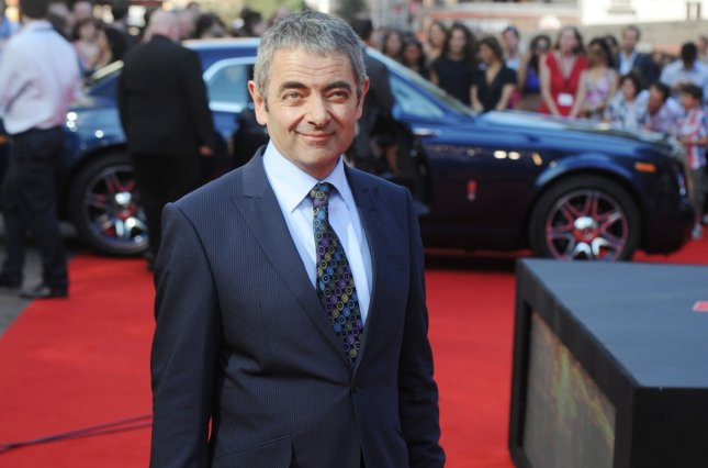 British actor Rowan Atkinson attends the premiere of Johnny English Reborn at Empire Leicester Square in London on Oct. 2, 2011. Photo by Rune Hellestad/UPI