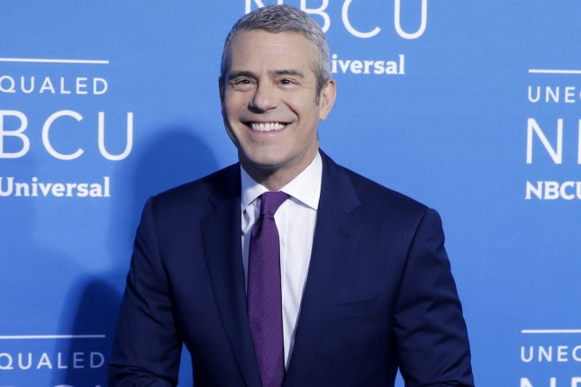 Andy Cohen attends the NBCUniversal upfront on May 15, 2017. File Photo by John Angelillo/UPI