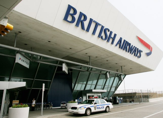British Airways terminal at JFK International Airport along with all other terminals and airports have been on high security alert following the discovery of a plot to blow up numerous planes on August 10, 2006 in New York City. British authorities thwarted a terrorist plot which was intended for flights between England and the USA. (UPI Photo/Monika Graff)
