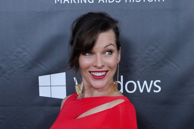 Milla Jovovich will play Gray Alys in a forthcoming film adaptation of three of R.R. Martin's short stories. Photo by Jim Ruymen/UPI