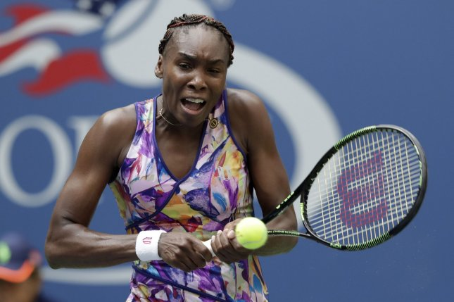 Venus Williams opened up with a victory in the first round of the Internazionali BNL d'Italia. File photo by John Angelillo/UPI