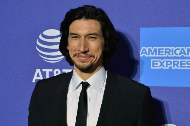 Adam Driver stars in Annette, a new musical that will open the Cannes Film Festival in July. File Photo by Jim Ruymen/UPI