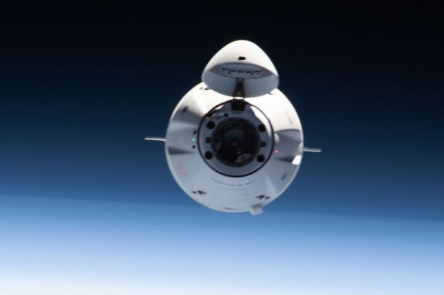A SpaceX Dragon capsule approaches the International Space Station in June. Photo courtesy of NASA