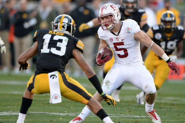 If football doesn't work out, Christian McCaffrey is a sick