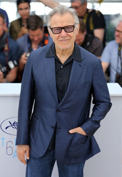 Harvey Keitel arrives at a photocall for Youth during the 68th annual Cannes International Film Festival in Cannes, France, on May 20, 2015. The actor turns 80 on May 13. File Photo by David Silpa/UPI