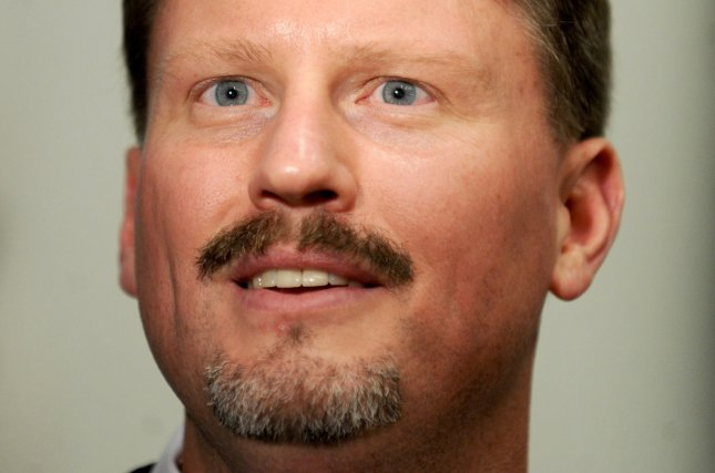 New York Giants new head coach Ben McAdoo speaks at his introduction press conference at MetLife Stadium in East Rutherford, New Jersey on January 15, 2016. McAdoo replaces 2-time Super Bowl winning coach Tom Coughlin after 12 years as Giants head coach. Photo by Dennis Van Tine/UPI
