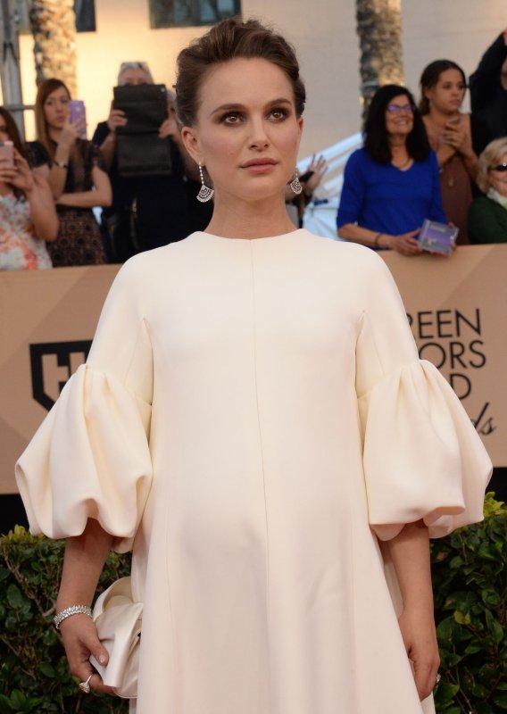Natalie Portman at the Screen Actors Guild Awards on Sunday. Photo by Jim Ruymen/UPI