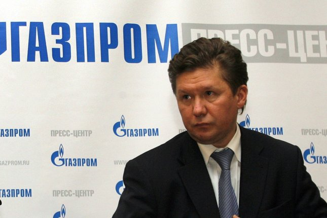 Russian gas monopoly Gazprom chief Alexei Miller says he expects imminent development on a natural gas pipeline bound for the Chinese economy. File photo by Anatoli Zhdanov/UPI