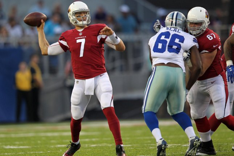 Arizona Cardinals quarterback Blaine Gabbert. File photo by Aaron Josefczyk/UPI