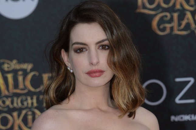 Anne Hathaway's upcoming Barbie film has been pushed back until 2020. File Photo by Jim Ruymen/UPI
