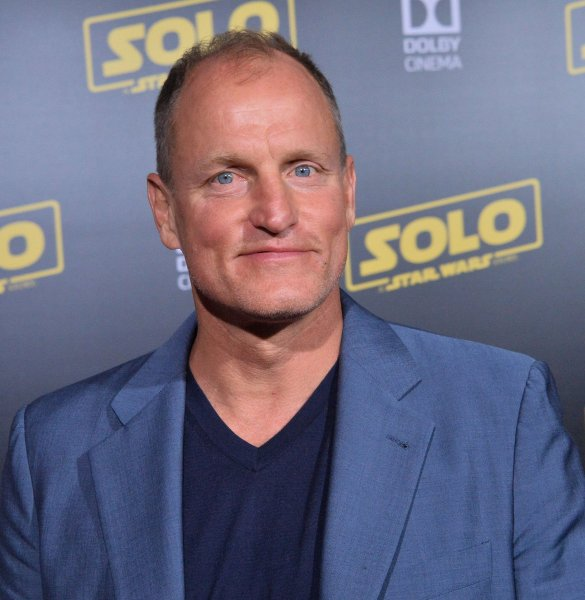 Woody Harrelson joins Kevin Costner in the first image for Netflix's Highwayman. File Photo by Jim Ruymen/UPI