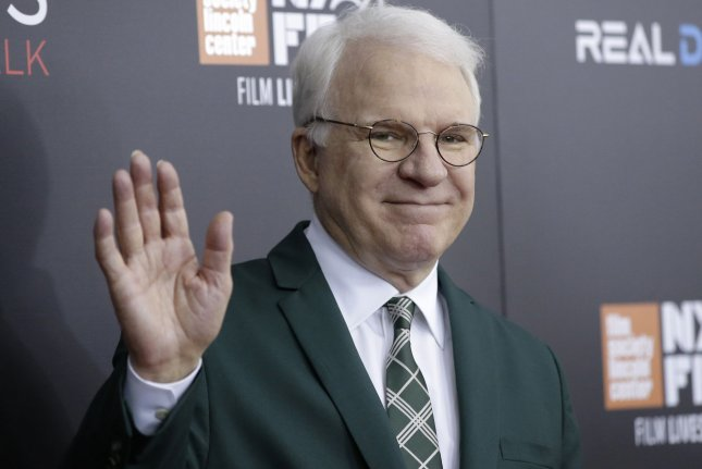 Comedian Steve Martin played Roger Stone on this weekend's edition of Saturday Night Live. File Photo by John Angelillo/UPI