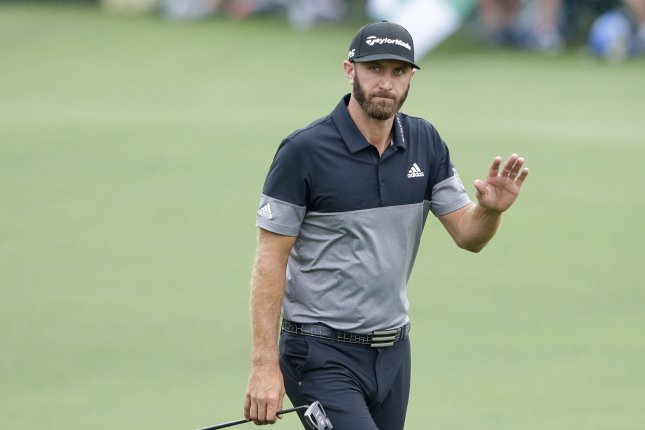 Dustin Johnson, who won the PGA Tour Championship earlier this month and was named Player of the Year on Monday, is the betting favorite to win the 2020 U.S. Open. File Photo by John Angelillo/UPI