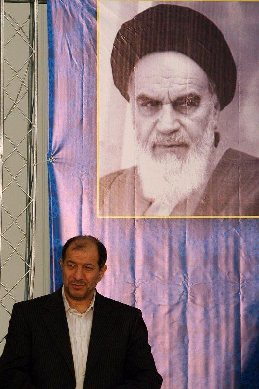 Iranian Interior Minister Mostafa Mohammad Najjar in a February 2010 file photo. UPI/Maryam Rahmanian