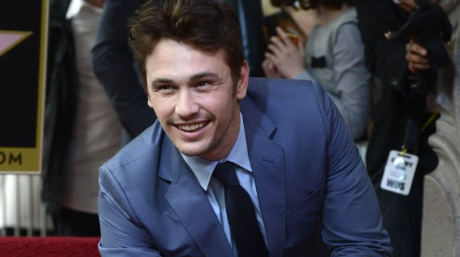 James Franco attends a ceremony where the actor receives a Star on the Hollywood Walk of Fame in the Hollywood section of Los Angeles on March 7, 2013. UPI/Phil McCarten