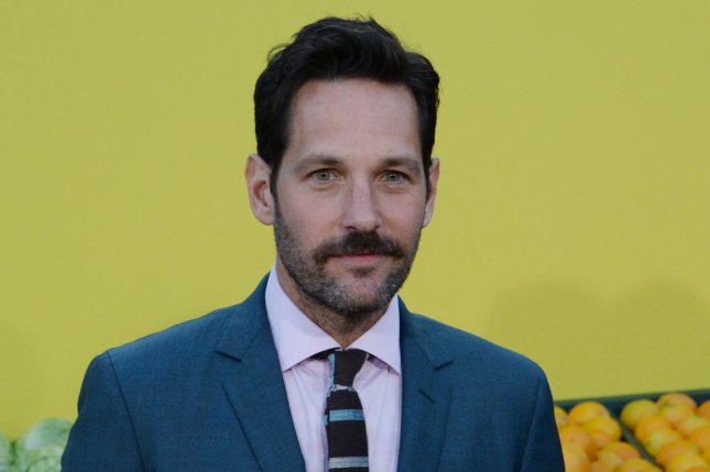 Cast member Paul Rudd, the voice of Darren in Sausage Party, attends the premiere of the film in Los Angeles on August 9, 2016. His Netflix series Wet Hot American Summer: Ten Years Later is to debut on August 4. File Photo by Jim Ruymen/UPI