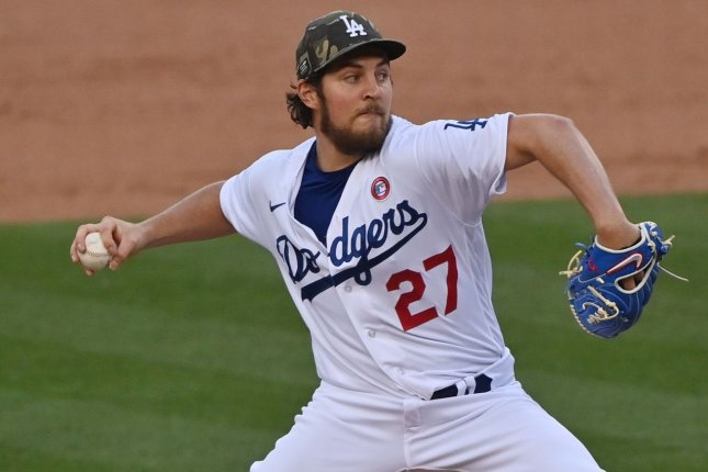 Dodgers cancel Trevor Bauer bobblehead night, remove merchandise amid probe