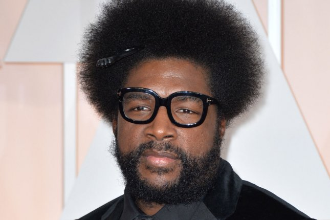 Questlove arrives on the red carpet at the 87th Academy Awards at the Hollywood & Highland Center on February 22, 2015. Questlove, with the help of YouTuber Okayplayer, shared a story about famed musician Prince. File Photo by Kevin Dietsch/UPI