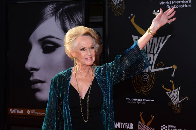 Tippi Hedren arrives for the world premiere of the 45th Anniversary Restoration of Funny Girl at the Opening Night Gala of the 2013 TCM Classic Film Festival at the TCL Chinese Theatre in the Hollywood section in Los Angeles on April 25, 2013. File Photo by Jim Ruymen/UPI