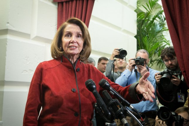 House Minority Leader Nancy Pelosi will appear on the VH1 reality competition RuPaul's Drag Race: All Stars. File Photo by Erin Schaff/UPI
